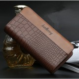 Baellerry Men Fashion Casual Clutches Bag Business Bag Long Phone Bag Wallet For Office