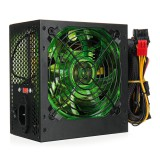 500W Power Supply 120mm LED Cooling Fan 24 Pin PCI SATA ATX 12V Computer Power Supply
