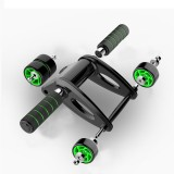 KALOAD Foldable Abdominal Wheel Roller Home Gym Exercise Tool Fitness Equipment