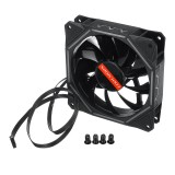 1400RPM 120mm 6pin Dual Aura Adjustble LED RGB Cooling Fan PC Case Cooling Fan for PC Case Computer Remote Control