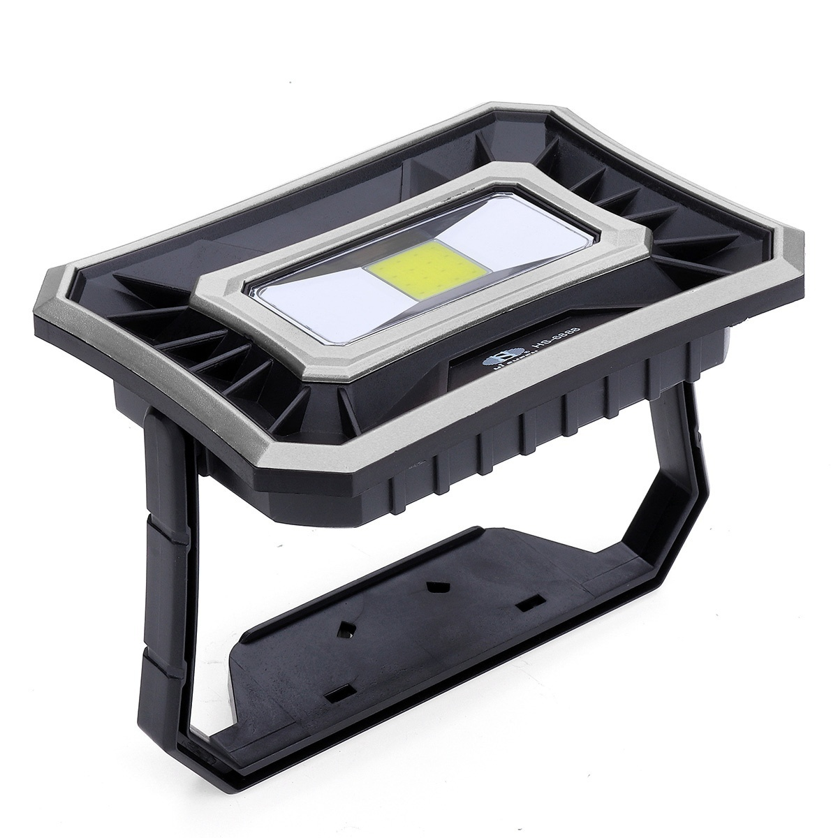 Rechargeable Work Light 50W 1000LM USB Waterproof COB LED Worklight Flood Lamp Battery Powered 2 Lights Models Emergency Lights Outdoor Camping Lamp Strong Light - Low Light Portable