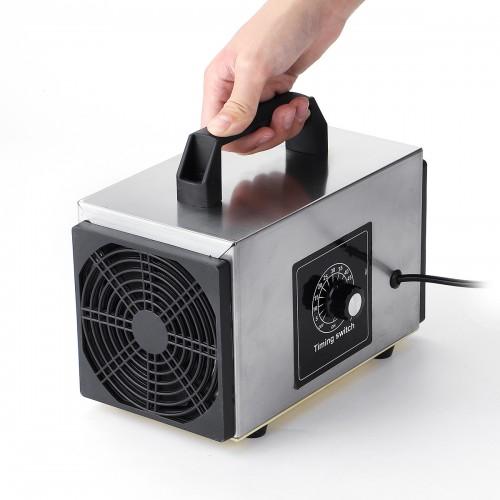2000mg/h Ozone Generator Machine Food Industrial Purifier Smoke Odor Air Cleaner Air Purifier