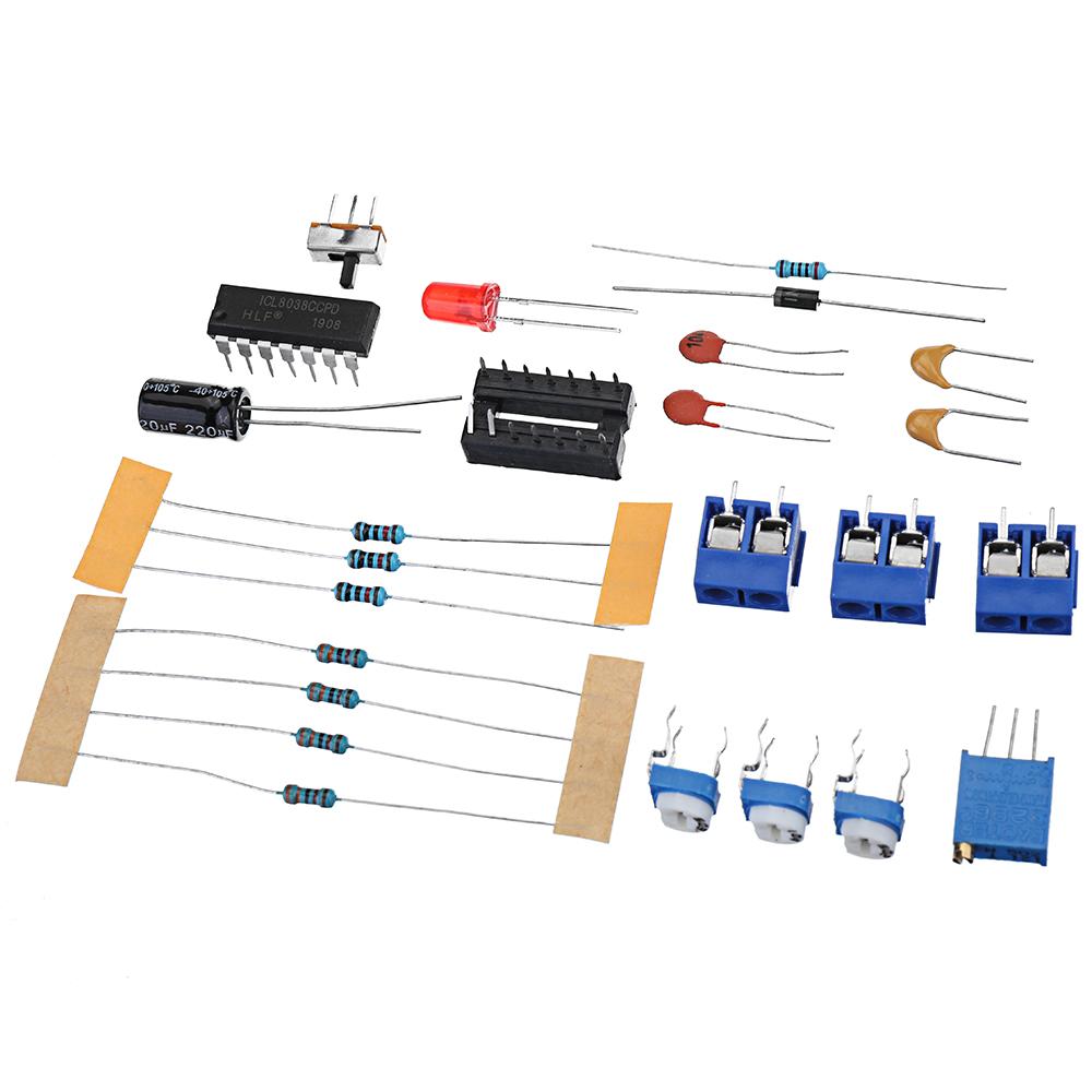 5Pcs 8038 Function Signal Generator DIY Waveform Generator Kit Electronic DIY Production Parts