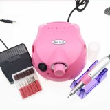 35,000 RPM Powerful Electric Manicure Drill Manicure Nail Art Set File Bits Heads Pedicure File Tips Polishing Shape Nail Drill Kit Tool