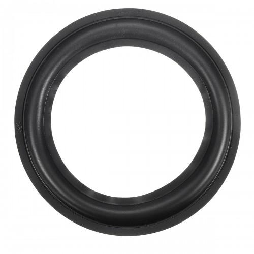 """6"""" Inch Black Soft Speaker Rubber Surrounds Horn Ring Repair Kit Universal"""