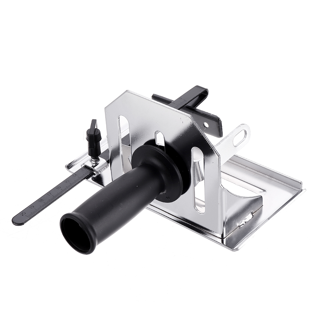 Drillpro Multifunction Angle Grinder Stand Angle Cutting Bracket with Adjustable Base Plate Cover