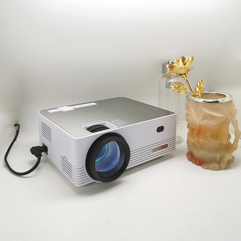 Q6 MINI Projector 1280x720P 2600 lumens LED Proyector for 1080P Home Cinema 3D Video Beamer Basic Version