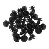 655 Pcs 17 Kinds Plastic Car Body Push Pin Rivet Fasteners Trim Moulding Clip Screwdriver Fastener Clip Kit