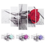 5Pcs Unframed Modern Art Oil Paintings Print Canvas Picture Home Wall Room Decorations