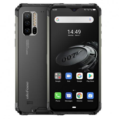 Ulefone Armor 7E IP68 IP69K Waterproof 6.3 inch 4GB 128GB 48MP Triple Camera NFC 5500mAh Helio P90 Octa Core 4G Smartphone