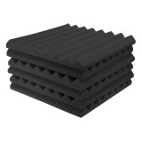 6PCS 50*50 CM Studio Acoustic Soundproof Foam Sound Absorbing Sponge For Piano Room Drum Studio