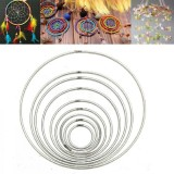 35mm~160mm Strong Metal Dreamcatcher/Macrame Craft Hoops/Ring Feather