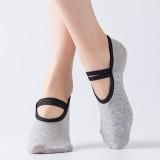 Women Cotton Non-slip Yoga Sock Five Finger Socks Bandage socks
