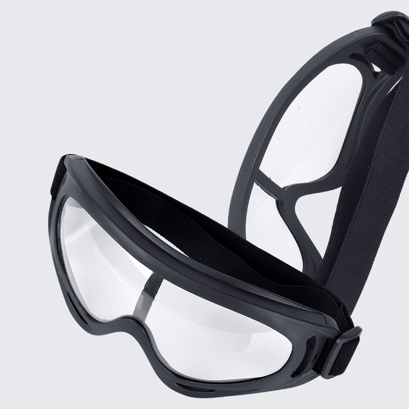 WEST BIKING Anti-Fog Sand Proof Safety Goggles Totally Enclosed Transparent Riding Cycling Protect Goggles