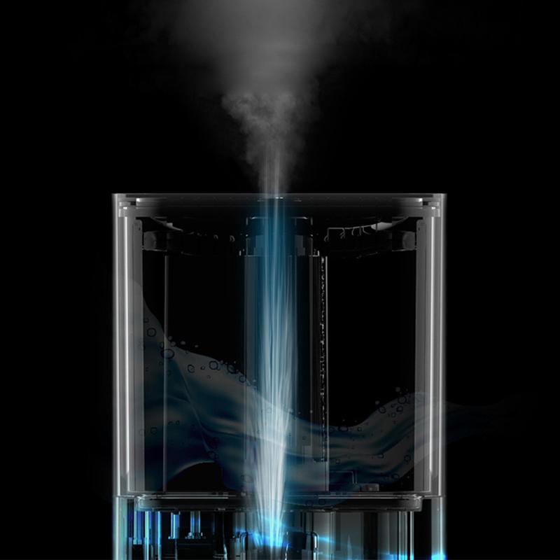 Deerma DEM-ST800 4L Water Tank Capacity Humidifier 3 Gears Fog Volume Atomization Aroma Mist Maker Triple Purification