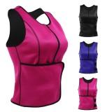 S/M/L/XL/2XL/3XL Sweat Sauna Body Shaper Women Slimming Vest Thermo Neoprene Waist Trainer Belt