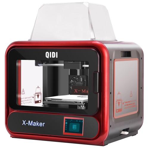 QIDI X Maker 3D Printer Kit with 170mm*150mm*160mm Printing Size Built-in Camera Monitor Wifi Connection Silent Printing