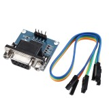 5pcs DC5V MAX3232 MAX232 RS232 To TTL Serial Communication Converter Module With Jumper Cable Geekcreit for Arduino – products that work with official Arduino boards