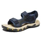 Men Fabric Hook&Loop Slip Resistant Casual Soft Beach Sandals
