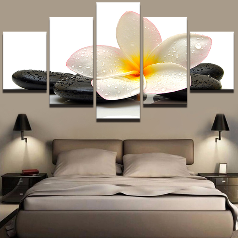 5PCS Modern Canvas Print Paintings Poster Wall Art Picture Home Decor Unframed Decorative Paintings