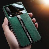 For Xiaomi Redmi Note 8 Pro Case Bakeey Luxury Business PU Leather Mirror Glass Shockproof Anti-scratch Protective Case