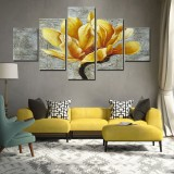 5Pcs Unframed Modern Art Oil Paintings Print Canvas Picture Home Wall Room Decor