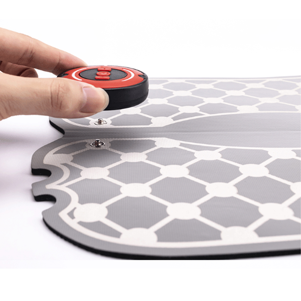 EMS Dual Foot Massager Mat 6 Modes 15 Levels Feet Relax Shiatsu Deep Kneading Therapy Massage Blood Circulation Device