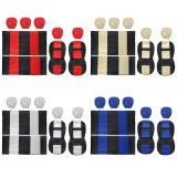 9pcs Universal Car Seat Cover Full Set Washable Pet Front Rear Seat Protectors