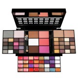 74 Color Eye Shadow Set Lip Gloss Blush Foundation Cream Glitter Eye Shadow Palette Makeup Set