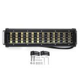 12 Inch 64W LED Work Light Bar 4WD Quad-Row Combo Driving Lamp For Boat Offroad SUV ATV UTV