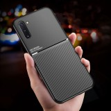 Bakeey Magnetic Non-slip Leather Texture TPU Shockproof Protective Case for Samsung Galaxy Note 10 Plus / Galaxy Note 10+ 5G