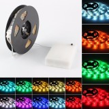 LED Strip Light 50CM 100CM 150CM 200CM 5050 Waterproof RGB Flexible Color Changing Kit for Home Kitchen TV Backlight
