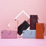 Casual Zipper Buckle PU Leather Multi Card Slots Holder Phone Coin Long Wallet Women Purse Clutch Bag