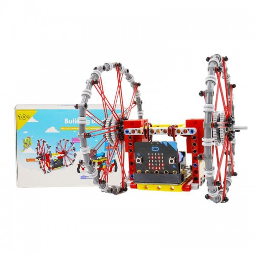Yahboom Programmable Tumble:bit Package Kit Based on Micro:bit Development Board Compatible with LEGO Support APP Control for STEM Children Education