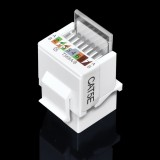 CAT5E Network UTP RJ45 Module Network Connector Cable Adapter Network Cable Tool Free RJ45 Module