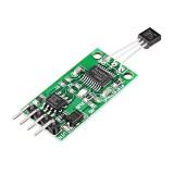 3pcs DS18B20 5V TTL Com UART Temperature Acquisition Sensor Module Modbus RTU PC PLC MCU Digital Thermometer