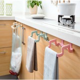 Plastic Garbage Bag Rack Portable Hanging Trash Rubbish Bag Storage Rack Rack Storage Kitchen Garbage Rubbish Bag Can Holder Hanging Kitchen Cabinet Trash Shelf Rack