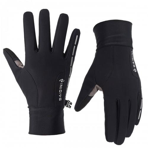 Touch Screen Gloves Warm Velvet Non-slip Thermal Motorcycle Bike Outdoor Sport Waterproof Winter