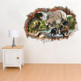 Bedroom Dinosaurs Kids Room Decor Wall Sticker Wall Decal Wall Decal 3D Art Stickers Vinyl Room