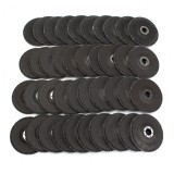 10Pcs 5″ 125mm 40 60 80 120 Grit Angle Grinder Flap Sanding Disc Grinding Wheels Silicon Carbide Polishing Cutting Copper