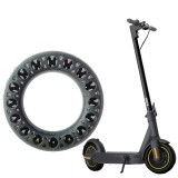 10inch Universal Tire For Ninebot MaxG30 Electric Scooter Shock Absorption Anti-silp Non-Pneumatic Solid Rubber Tire Electric Scooter Accessories