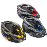 Fashion Ultralight Cycling Bicycle Safety Helmet Streamline Handsome MTB Bicycle Sports Carbon Hat breathable Hole Design