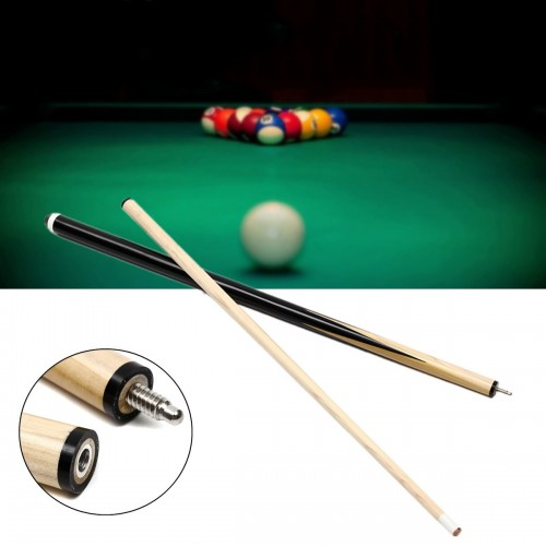 57'' 2-Piece 1/2 Eco Pool Jointed Cue Stick For Billiards Game Sport Toys