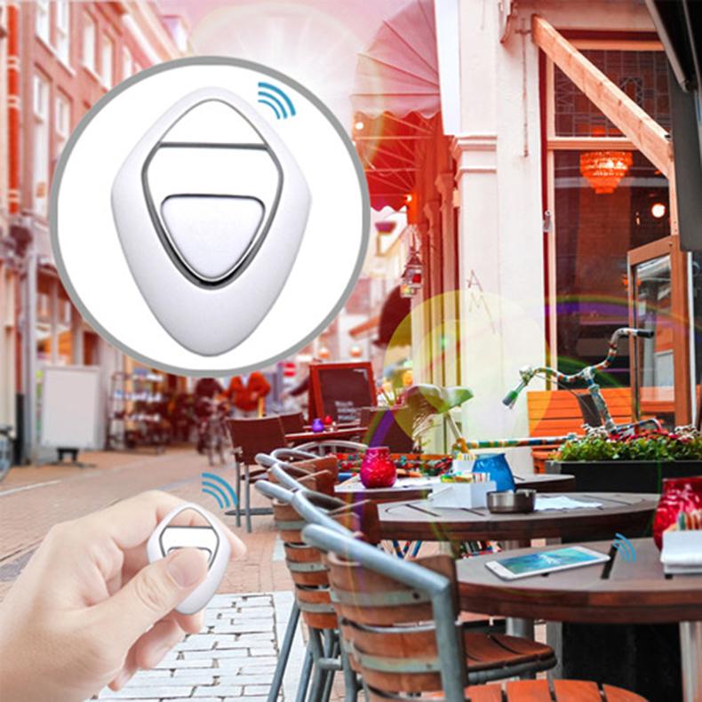 Ba30DEllylelly Smart Wireless 4.0 Key Anti Lost Finder Tracker Alarma Localizador GPS Posicionamiento inal/ámbrico Monedero Pet Key