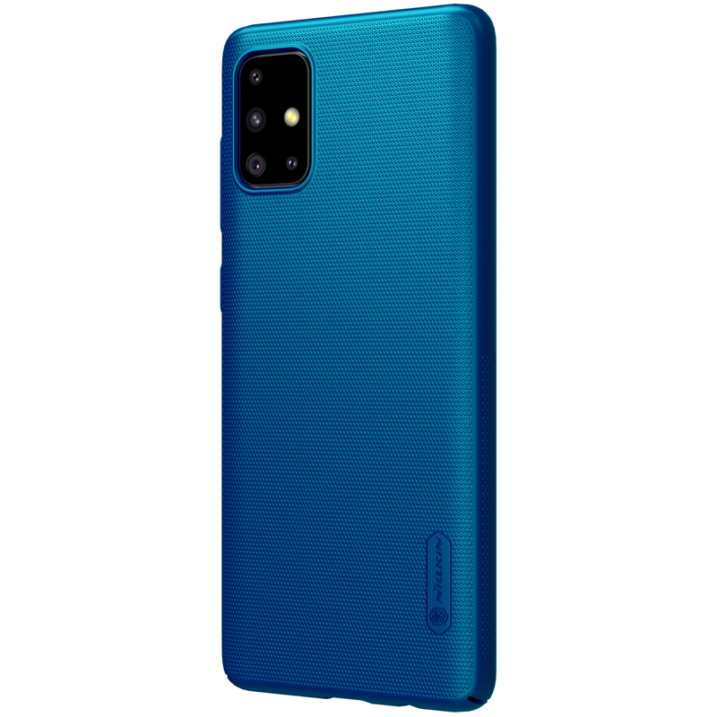 Nillkin Frosted Anti-Fingerprint Shockproof PC Hard Protective Case for Samsung Galaxy A71 2019