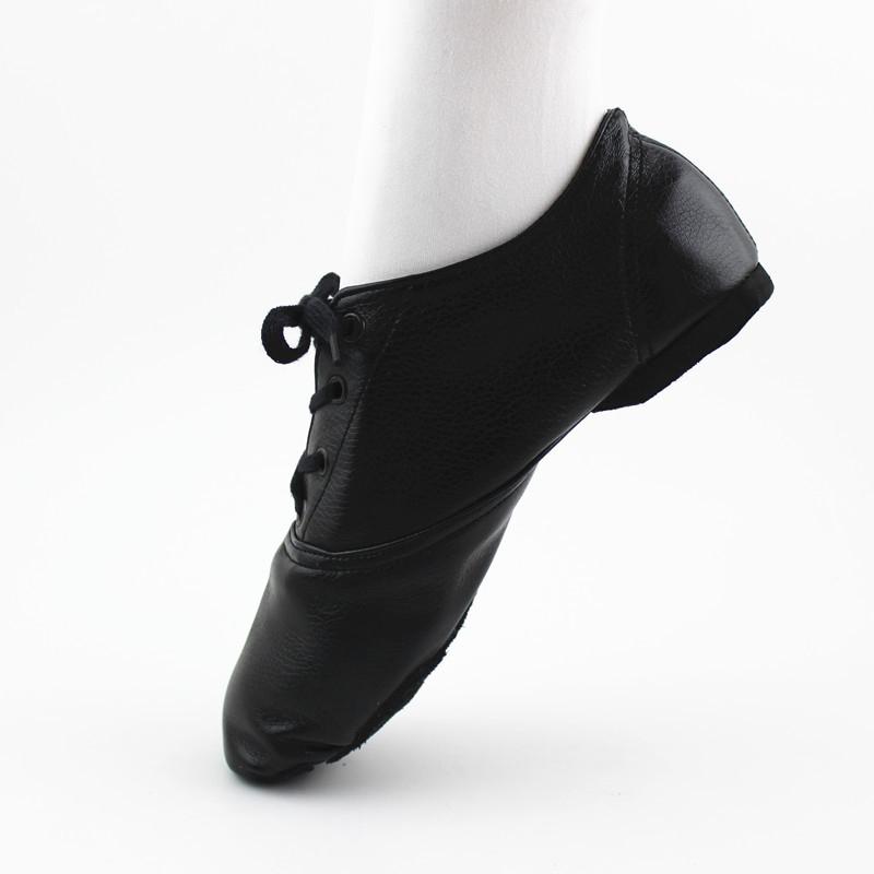 PU Bright Leather Shoes Women Dance Shoes Dress Shoes Fitness Ballet Shoes