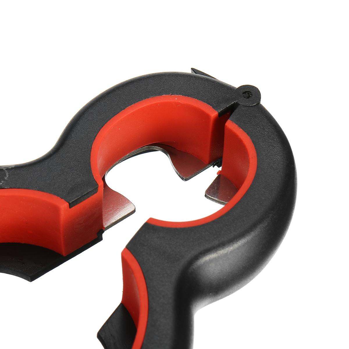 6 in 1 Can Opener Multi Purpose Screw Cap Bottle Openers Jar Lid Grip Kitchen Tool