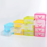 4 Styles Multi-layer Plastic Storage Box Desktop Organizer Drawer Storage Box Detachable Jewelry Makeup Cabinets Case Nail Storage Case