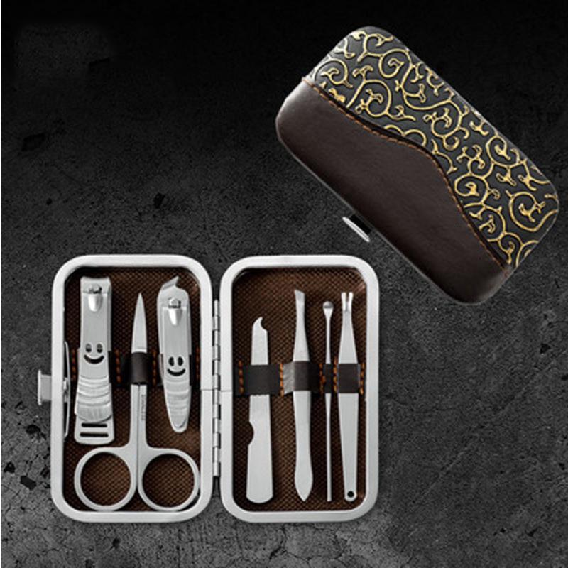 Junyu 7Pcs Stainless Steel Nail Clipper Nail Clipper Beauty Set