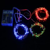 Battery Powered 12M Waterproof Copper Wire Fairy String Light For Christmas Holiday Party Decor